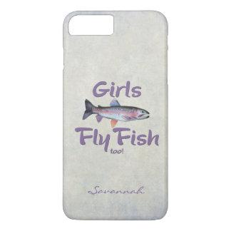 ¡Los chicas vuelan pescados también! Pesca con Funda iPhone 7 Plus