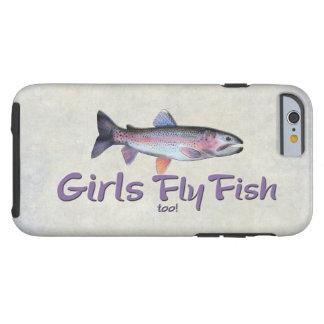 ¡Los chicas vuelan pescados también! Pesca con Funda Resistente iPhone 6