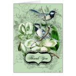Los Chickadees y las magnolias le agradecen las ta