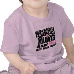 Los chicos duros del cáncer de pecho llevan rosa camiseta