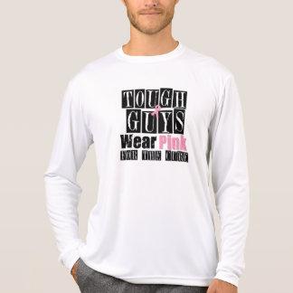 Los chicos duros llevan el rosa para la curación camisetas