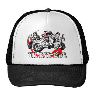 Los chicos malos del triciclo gorras