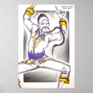 Los chinos bailan el ballet del cascanueces póster