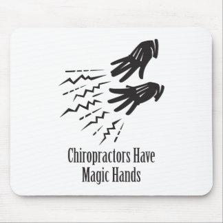 Los Chiropractors tienen manos mágicas Mousepad