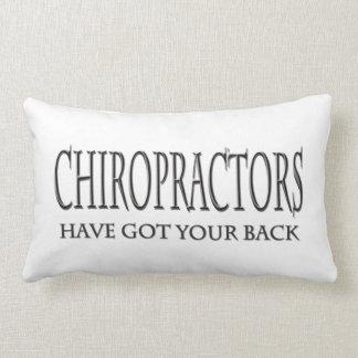 Los Chiropractors tienen su parte posterior Cojines