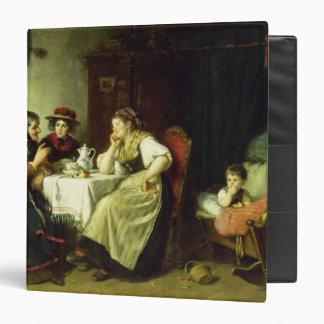 """Los chismes, 1887 carpeta 1 1/2"""""""