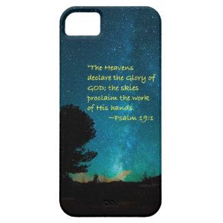 """Los """"cielos declaran """" funda para iPhone SE/5/5s"""