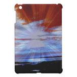 Los cielos rojos Sun de la costa de Labrador irrad iPad Mini Funda