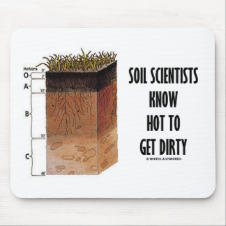 Los científicos del suelo saben conseguir sucios alfombrilla de raton