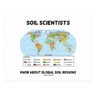 Los científicos del suelo saben sobre regiones glo postales