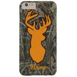 Los ciervos anaranjados dirigen el caso más del funda de iPhone 6 plus barely there