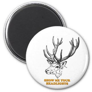 Los ciervos me muestran sus linternas imán redondo 5 cm