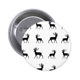 Los ciervos modelan en blanco y negro pins