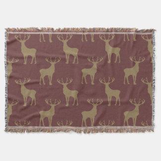 Los ciervos modelan en Brown Manta