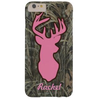 Los ciervos rosados dirigen el caso más del iPhone Funda De iPhone 6 Plus Barely There