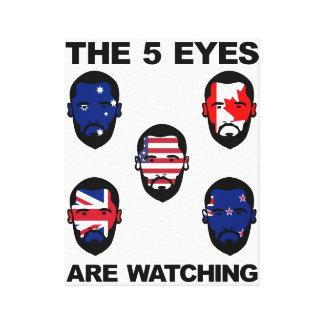 Los cinco ojos