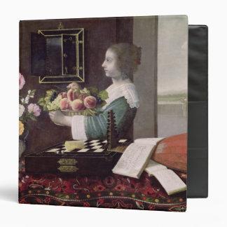 "Los cinco sentidos, o verano, 1633 carpeta 1 1/2"""