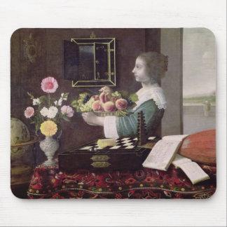 Los cinco sentidos, o verano, 1633 tapete de ratón