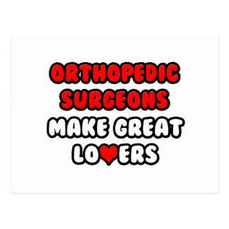 Los cirujanos ortopédicos hacen a grandes amantes postal