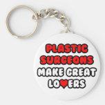 Los cirujanos plásticos hacen a grandes amantes llavero