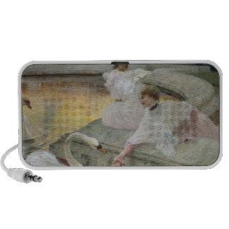 Los cisnes, 1900 iPod altavoz