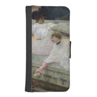Los cisnes, 1900 cartera para teléfono