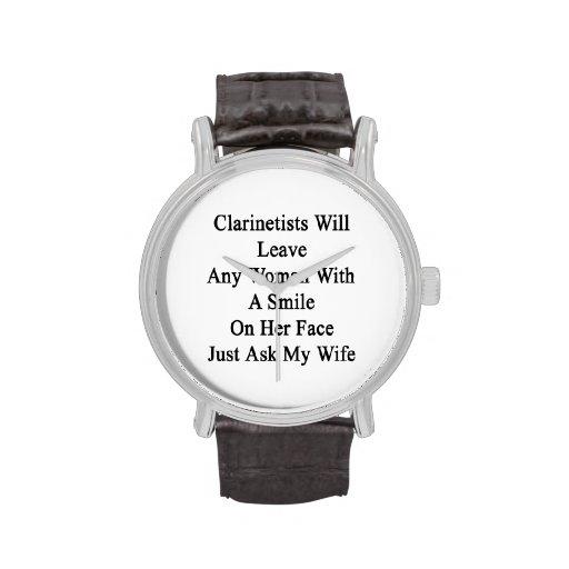 Los Clarinetists dejarán a cualquier mujer con una Relojes
