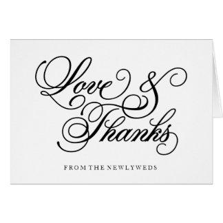 Los | clásicos que se casan le agradecen tarjeta