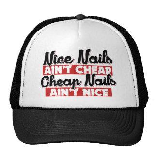 Los clavos agradables no son aint barato barato de gorras de camionero