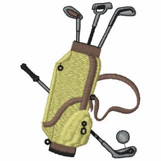 Los clubs de golf bordaron la camisa camiseta polo