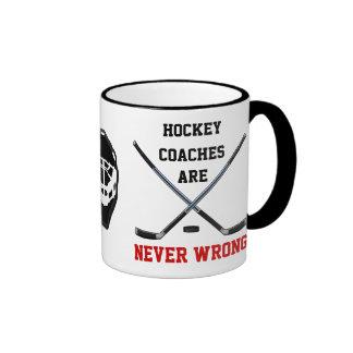 Los coches de hockey NUNCA son tazas INCORRECTAS
