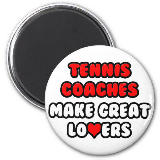 Los coches de tenis hacen a grandes amantes iman de nevera