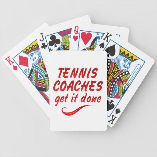 Los coches de tenis lo consiguen hecho baraja cartas de poker