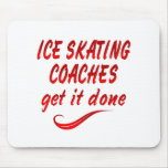 Los coches del patinaje de hielo lo consiguen hech tapete de ratón