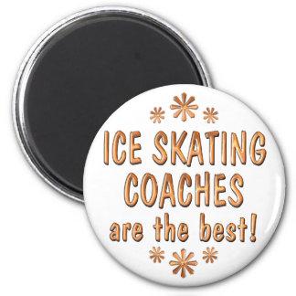 Los coches del patinaje de hielo son el mejor imán redondo 5 cm