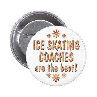 Los coches del patinaje de hielo son el mejor pin redondo de 2 pulgadas