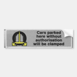 los coches negros y blancos serán pegatina para el pegatina para auto