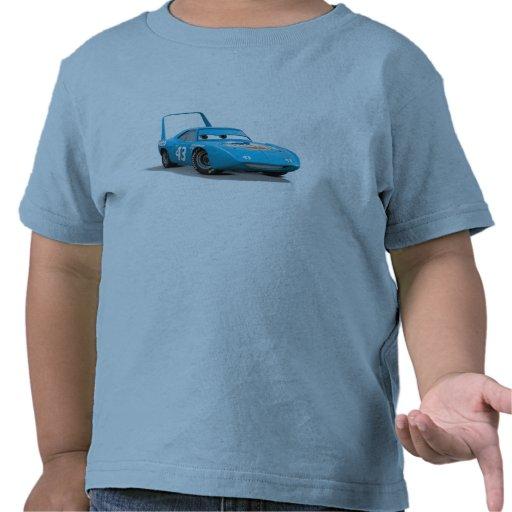 """Los coches pelan """"el coche de carreras de Dinoco Camisetas"""