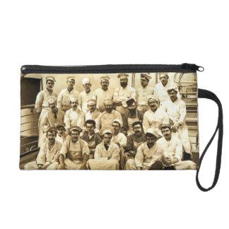 Los cocineros de la nave a bordo del R.M.S. Teuton