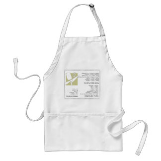 Los cocineros dirigen el delantal al revés de la i