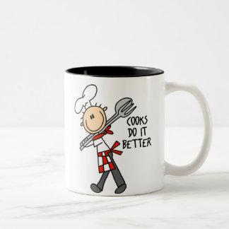 Los cocineros mejora la taza