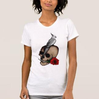 Los Cockatiels son gótico, camisa ligera
