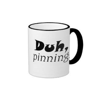 Los coffeecups más pinterest del humor del chiste taza de dos colores