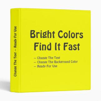"""Los colores brillantes lo encuentran rápidamente carpeta 1"""""""