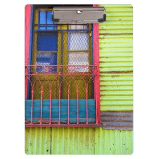 Los colores de la Boca, Carpeta de Pinza