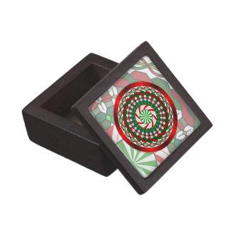 Los colores de la caja de la baratija del navidad cajas de recuerdo de calidad