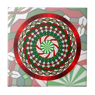 Los colores de la teja del navidad