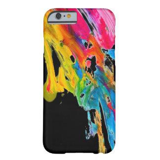 los colores del color de la salpicadura de la funda barely there iPhone 6