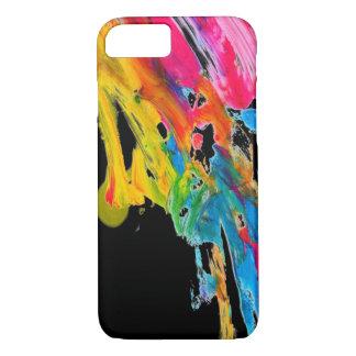 los colores del color de la salpicadura de la funda iPhone 7