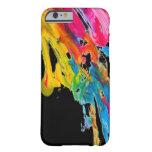 los colores del color de la salpicadura de la funda para iPhone 6 barely there